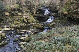 Earby Waterfall