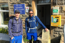 Walkers at Earby Hostel