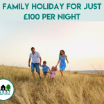 family holiday for just £100 per night