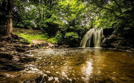 Janets Foss Walking Yorkshire Dales