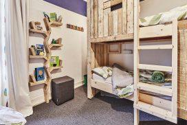 Tree House Bedroom